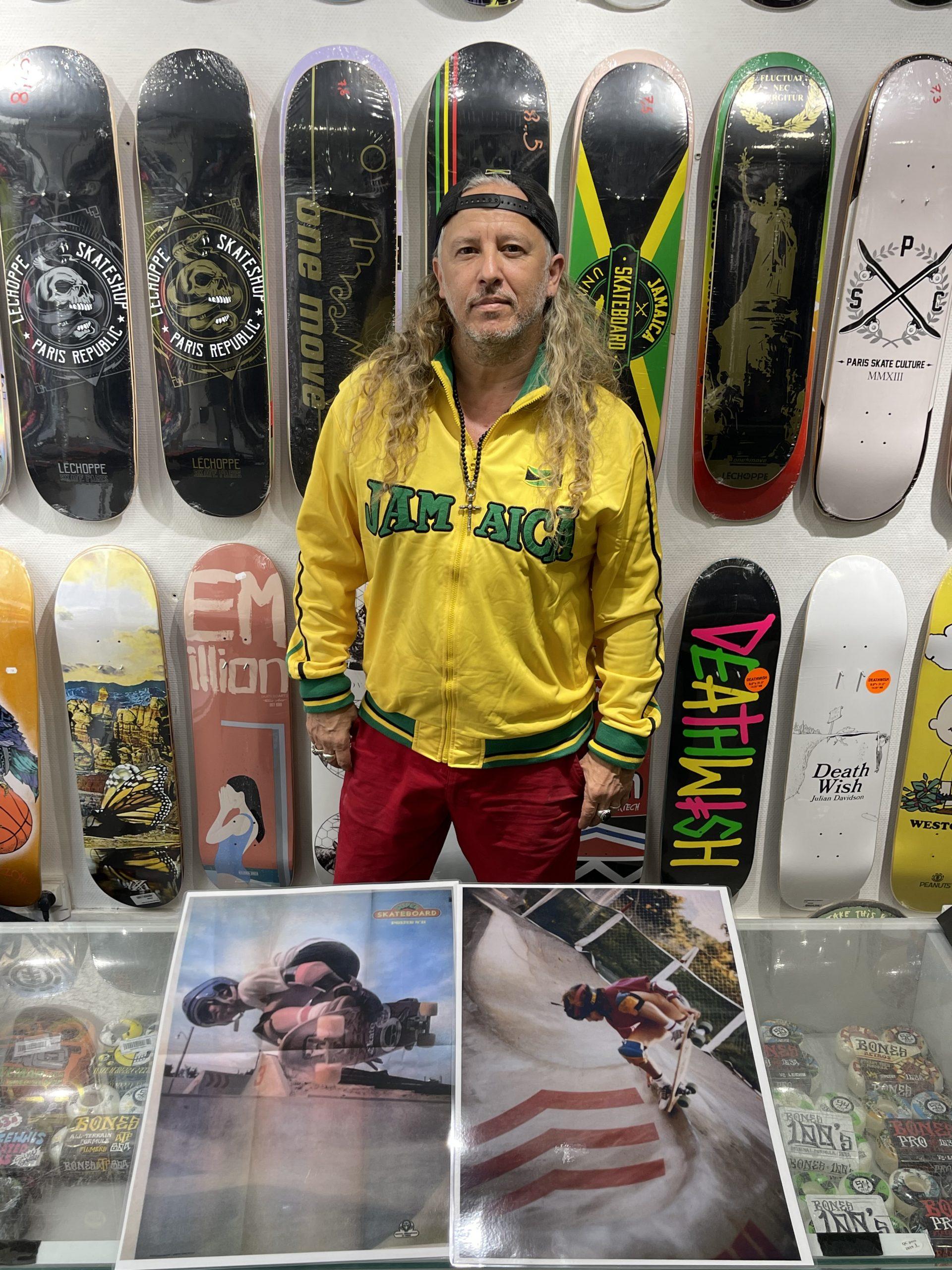 Rémy Walter skateur de la 1ere vague
