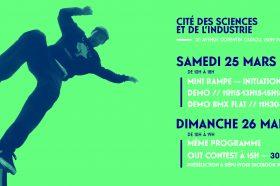 PSC au Festival Roues Libres, cité des sciences et de l'industrie 25 & 26 Mars-image