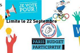 VOTEZ AVANT LE 22 SEPTEMBRE AU BUDGET PARTICIPATIF-image