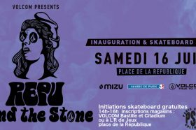 Initiations skate – Nouveau skatepark République by VOLCOM-image