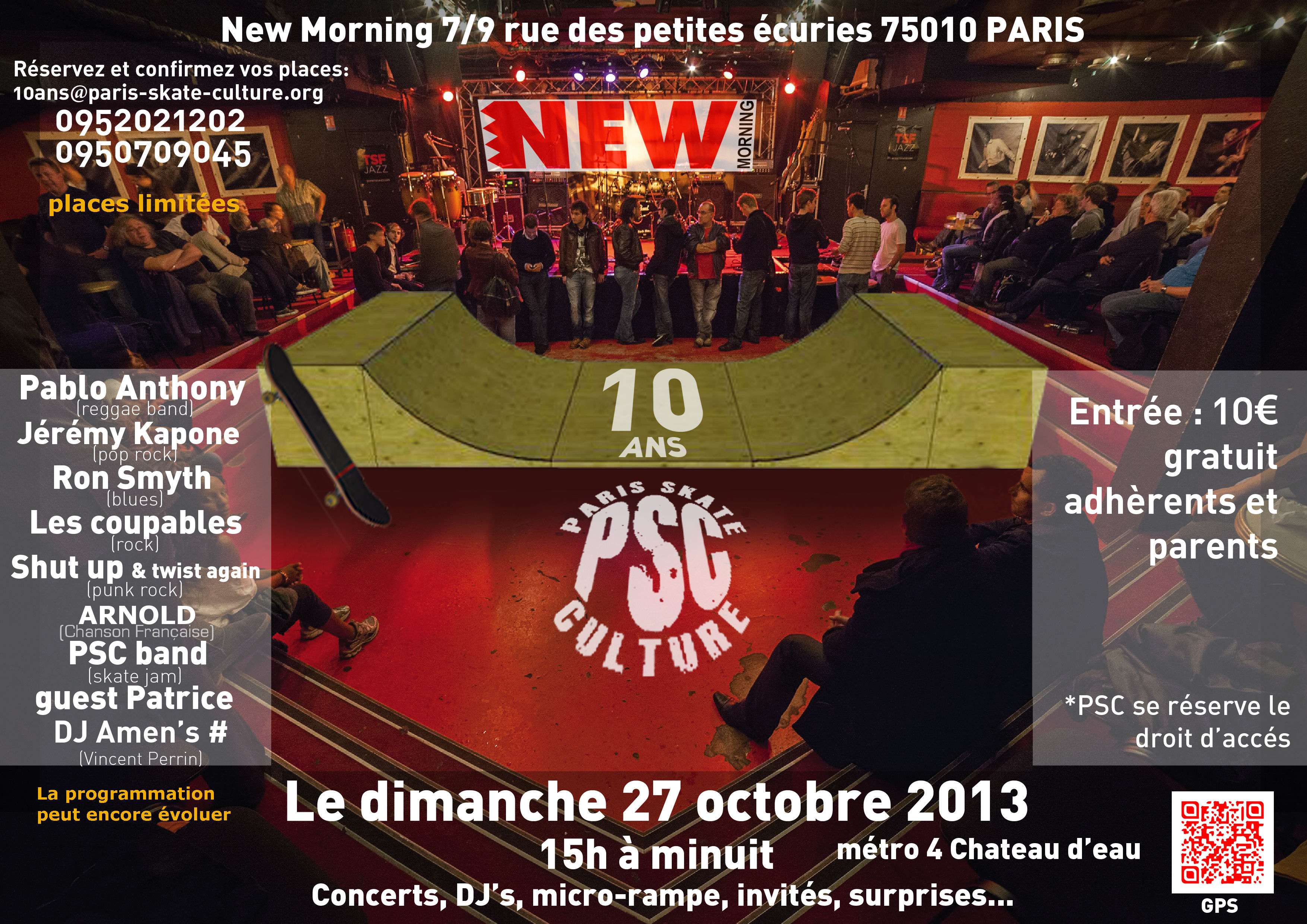 10 ans de PSC au NEW MORNING-image