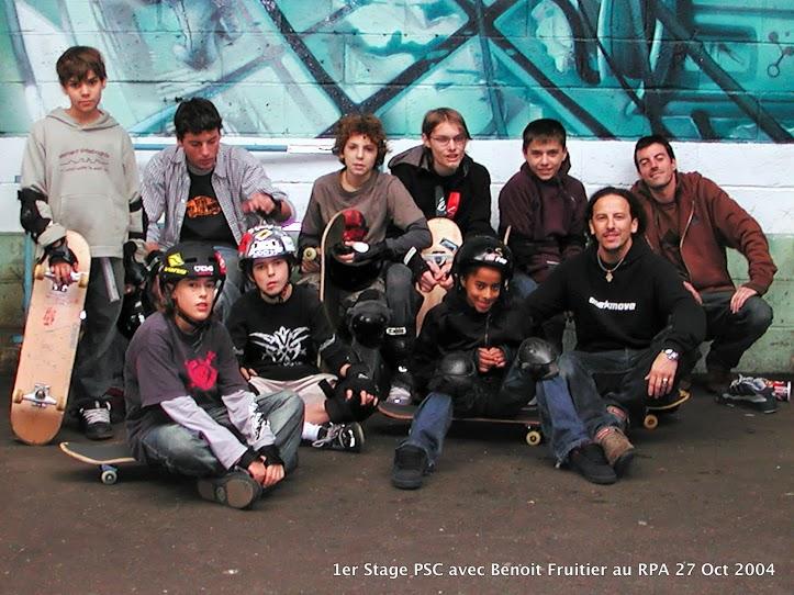 1er Stage PSC au RPA skatepark avec Benoit Fruitier-image