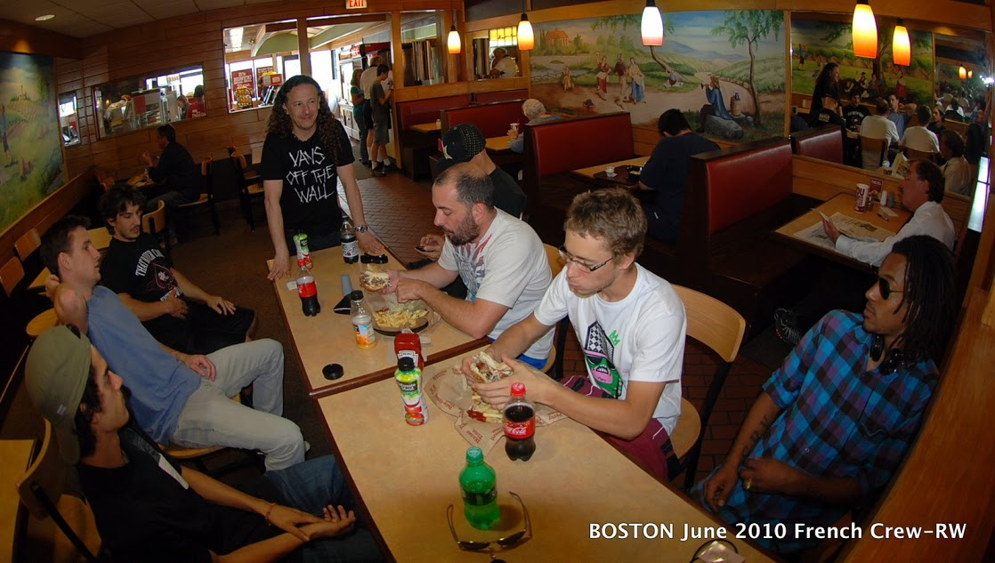 Boston French Crew – Getting warm-image