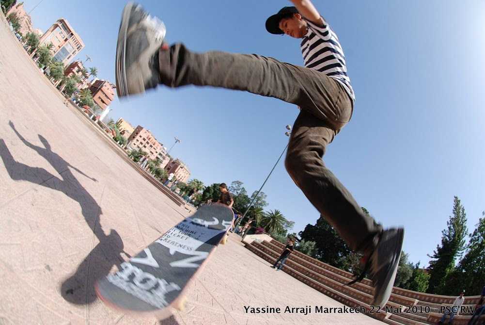 SK8 in MARRAKECH  ONE MOVE *PSC-image