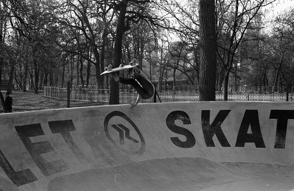 SKateparks et spots d'Hier…Bassins, Jardin d'Acclimation, La villette-image