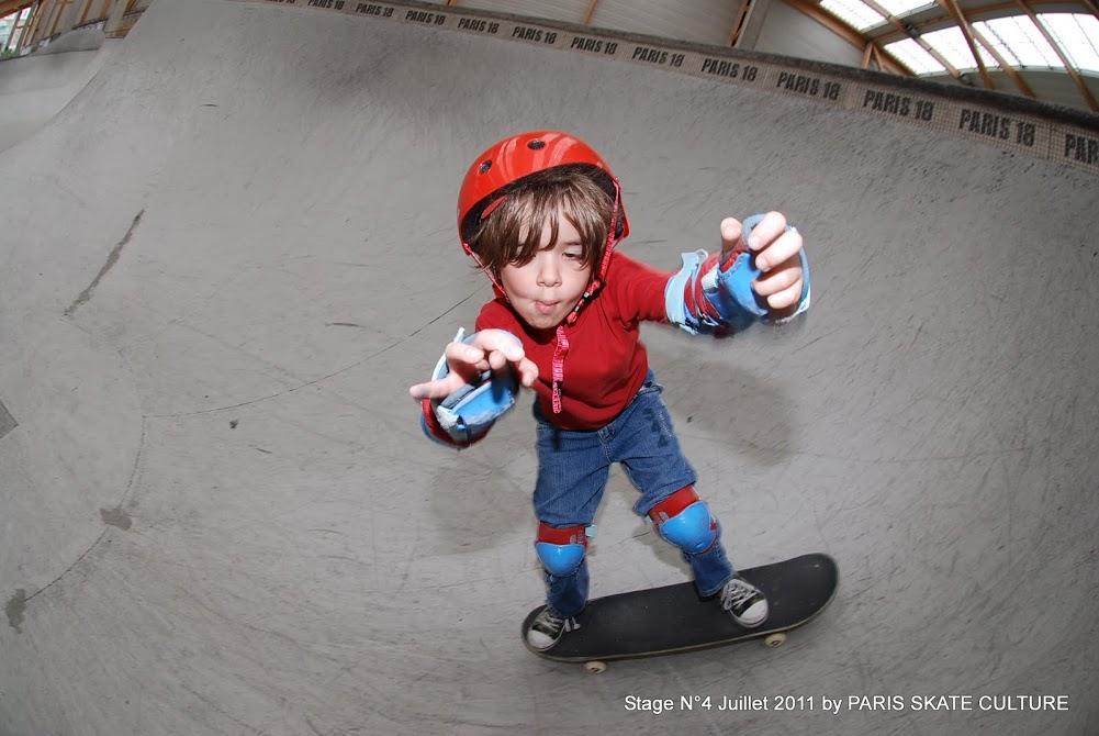 Stage N° 4 skatepark enfants juillet 2011-image
