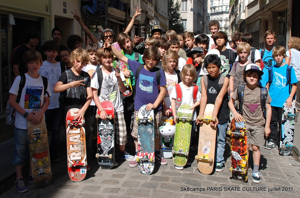 Sk8camps PARIS SKATE CULTURE Juillet 2011-image