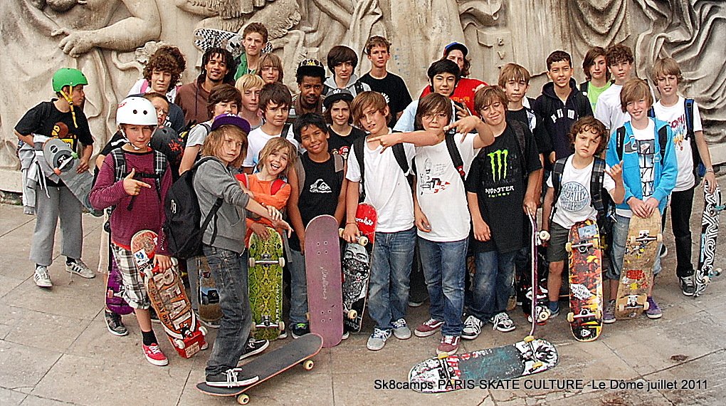 sk8camps PARIS SKATE CULTURE 2- Juillet 2011-image