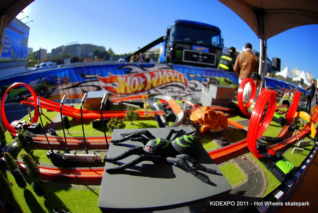 kidexpo 2011 – HOt Wheels skatepark-image
