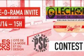 Contest Skate O Rama – cité de la mode & du design-image