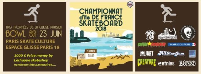 TPG trophée Parisien de la Glisse skateboard 2018-image